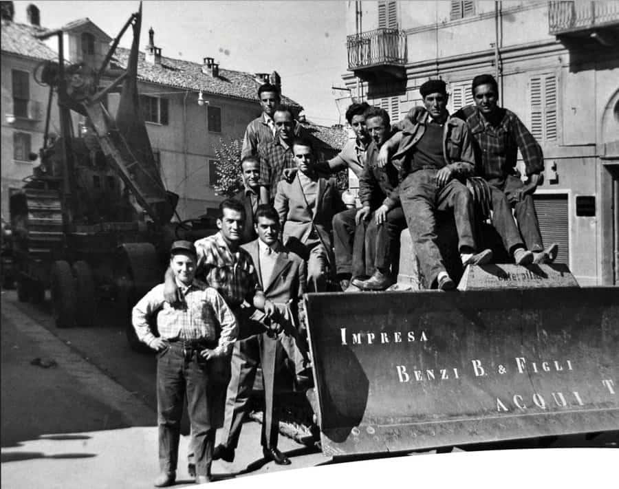 foto gruppo benzi storia